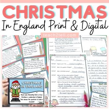 CHRISTMAS: CHRISTMAS AROUND THE WORLD: CHRISTMAS IN ENGLAND