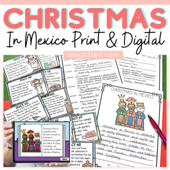 CHRISTMAS: CHRISTMAS AROUND THE WORLD {MEXICO}