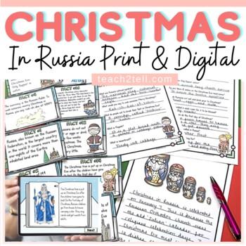 CHRISTMAS: CHRISTMAS AROUND THE WORLD {RUSSIA}
