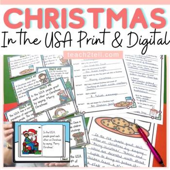 CHRISTMAS: CHRISTMAS AROUND THE WORLD: CHRISTMAS IN THE USA