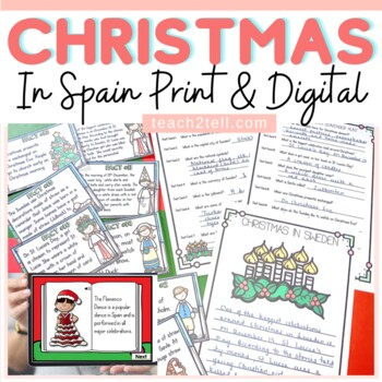 CHRISTMAS: CHRISTMAS AROUND THE WORLD: CHRISTMAS IN SPAIN
