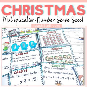 CHRISTMAS: CHRISTMAS MULTIPLICATION SCOOT