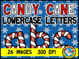 CHRISTMAS CLIPART: CANDY CANE CLIPART: CHRISTMAS LETTERS C