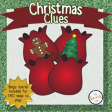 CHRISTMAS CLUES | BINGO & INFERENCING ACTIVITY | SPEECH & LANGUAGE |