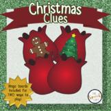 CHRISTMAS CLUES | BINGO & INFERENCING ACTIVITY | SPEECH &