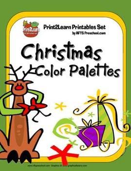 CHRISTMAS COLOR PALETTE MATCH
