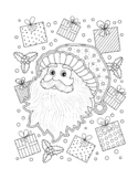 CHRISTMAS COLORING, BUNDLE 20 PAGES, CHRISTMAS ACTIVITIES