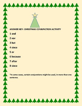 CHRISTMAS CONJUNCTION ACTIVITY