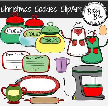 CHRISTMAS COOKIES CLIP ART