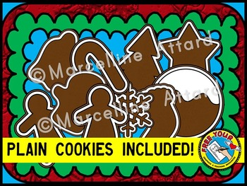 CHRISTMAS CLIPART (CHRISTMAS COOKIES CLIPART)