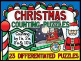 CHRISTMAS ACTIVITIES KINDERGARTEN, DECEMBER FIRST GRADE COUNTING PUZZLES