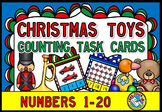 PRESCHOOL CHRISTMAS ACTIVITIES (KINDERGARTEN TOYS COUNTING CARDS)
