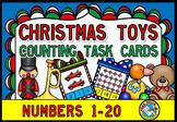 PRESCHOOL CHRISTMAS ACTIVITIES (KINDERGARTEN TOYS COUNTING CARDS)