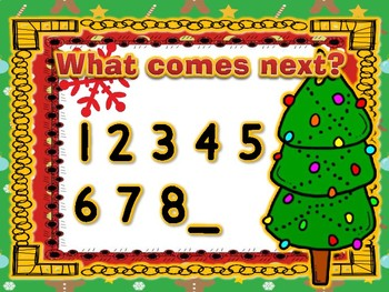 CHRISTMAS COUNTING and Other Math Activities!