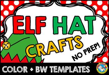 CHRISTMAS CRAFTS: ELF CRAFT HAT TEMPLATES