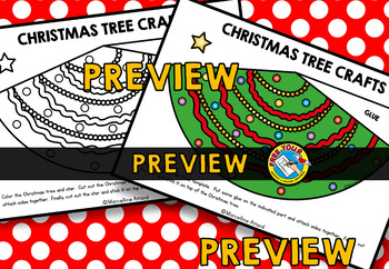 CHRISTMAS TREE CRAFTS CONE TEMPLATES (DECEMBER ACTIVITIES)