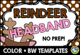 CHRISTMAS CRAFTS ACTIVITY KINDERGARTEN (REINDEER HEADBAND