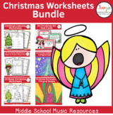 Christmas Worksheets Bundle