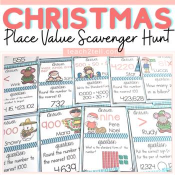 CHRISTMAS: Christmas Place Value