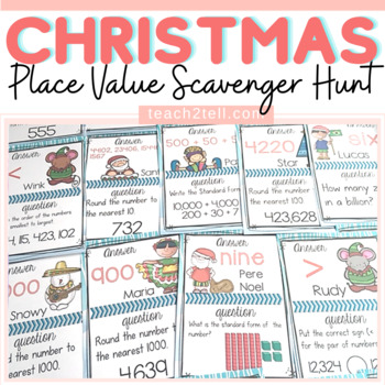 CHRISTMAS: Christmas Place Value