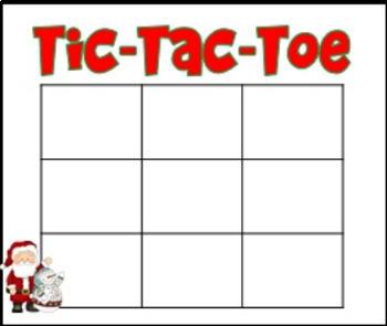 Christmas Tic-Tac-Toe
