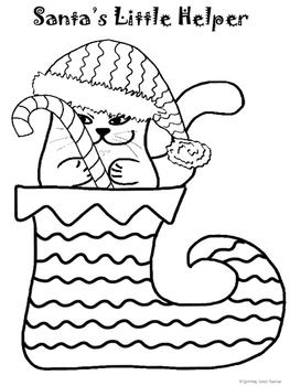 CHRISTMAS Read Write Draw Color