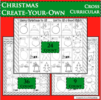 CHRISTMAS Create-Your-Own Cross-Curricular
