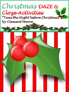 CHRISTMAS DAZE/Cloze Activities