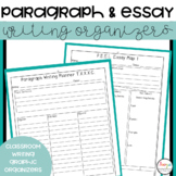 Paragraph and Essay Writing Graphic Organizers