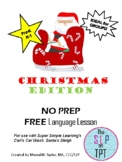 CHRISTMAS EDITION Freebie: Car Wash Language Lesson Video Companion