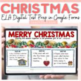 CHRISTMAS ELA DIGITAL REVIEW: GOOGLE DRIVE (FORMS): GOOGLE
