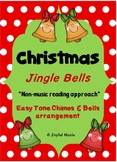 CHRISTMAS Easy Chimes & Bells Arrangement JINGLE BELLS