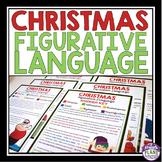 CHRISTMAS FIGURATIVE LANGUAGE - 5 STORIES