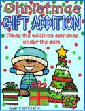 CHRISTMAS FUN ADDITION MATH CENTER STATION COMMON CORE MAFS