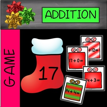 CHRISTMAS: Fill the Stockings Numbers and Equations within 20