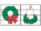 CHRISTMAS Fine Motor Puzzles SET #2