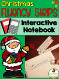 CHRISTMAS Fluency Strips Interactive Notebook