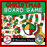 CHRISTMAS GAME BOARD CLIPART: BUILD A GAME CLIPART: CHRIST