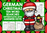 CHRISTMAS: GERMAN CHRISTMAS WORD SEARCHES