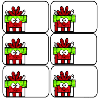 CHRISTMAS STUDENT GIFTS for K THROUGH FIFTH GRADE STUDENTS