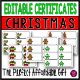 Editable Christmas Gifts for Students from Teachers