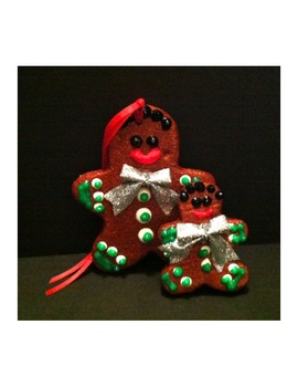 CHRISTMAS GINGERBREAD ORNAMENT and BUNDLE