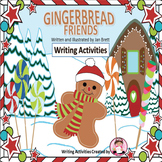 Gingerbread Friends Writing Craftivities and Writing Papers