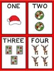 CHRISTMAS Go Fish - for numbers 1-20