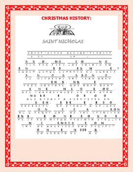 CHRISTMAS: ST. NICHOLAS