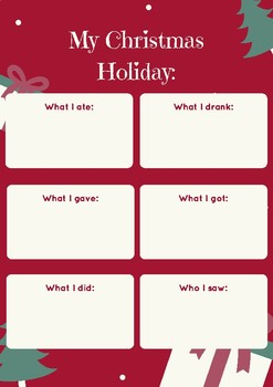 CHRISTMAS HOLIDAY RECOUNT