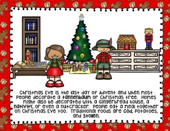 CHRISTMAS/HOLIDAYS AROUND THE WORLD ACTIVITIES, RESEARCH AND WRITING GERMANY