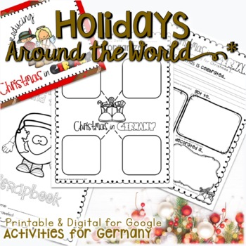 Christmas Holidays Around The World Activities Research And Writing Germany