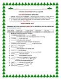 CHRISTMAS HOMONYM ACTIVITY: ESL: SPANISH