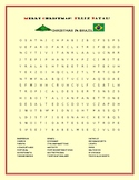 CHRISTMAS IN BRAZIL: A FUN WORD SEARCH